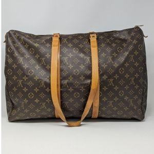 Auth Louis Vuitton Boston Bag Flanerie 50 Brown